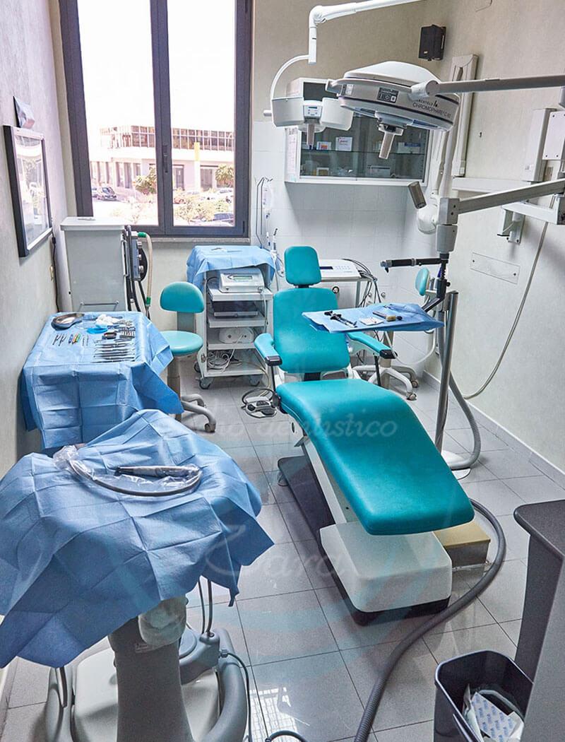 Poltrona dentistica Studio dentistico Zara