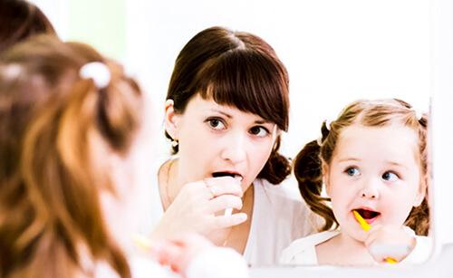 Importanza dell'igiene orale nei bambini