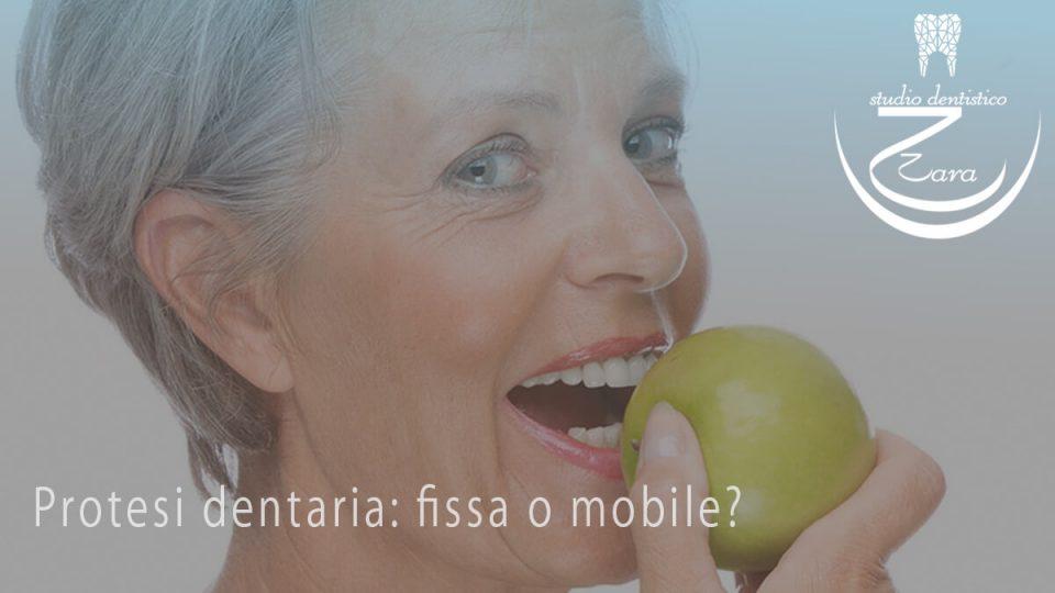 Protesi dentarie fissa o mobile?
