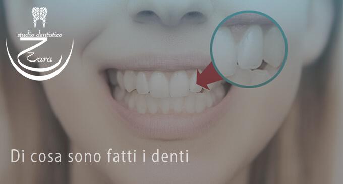Di cosa sono fatti i denti - dentista sassari