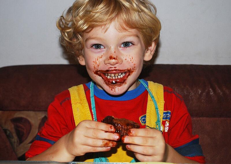 Bambini e alimentazione scorretta