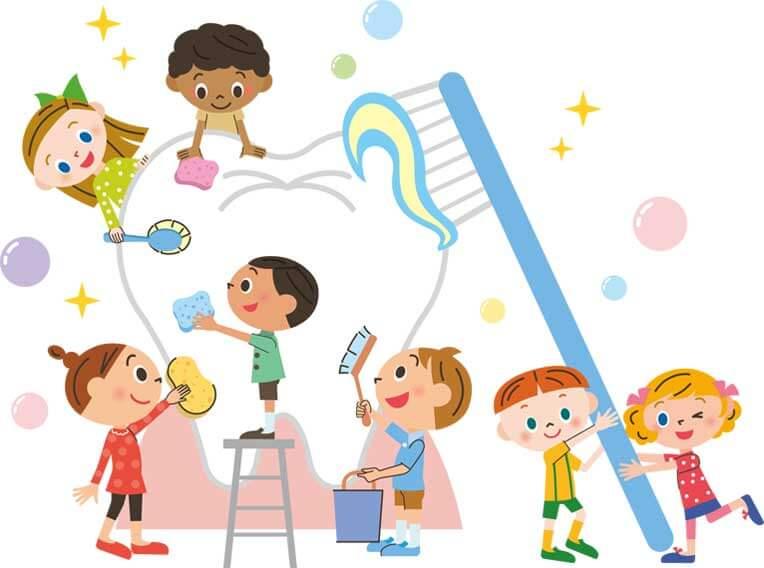 Cura e igiene orale bambini