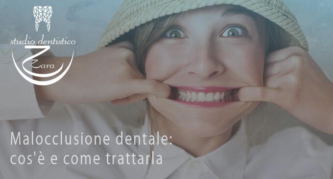 Malocclusione dentale - Studio dentistico Zara
